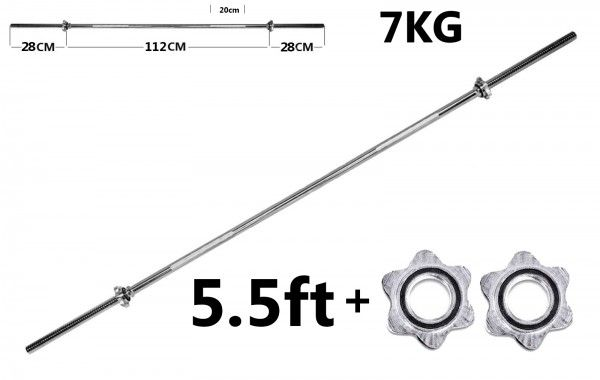 www.elitesupplements.co.uk fitness-accessories-171 tnp-accessories-barbell-bar-weights-spin-lock-triceps-bar-chrome-4ft-tnp020