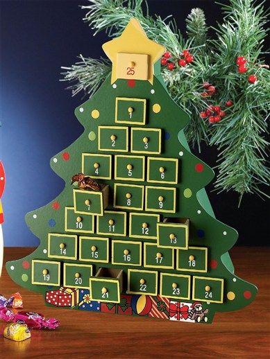 A-Z Idea for filling Advent Calendar
