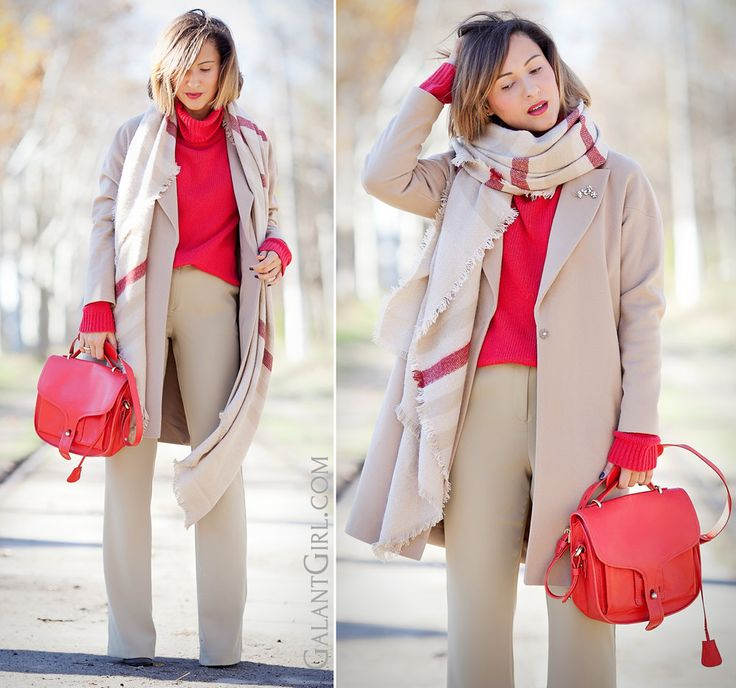 camel+coat+outfit+with+pop+of+red