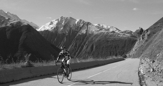 Red Lantern Cycling  Road to Croix de Fer - Touching the Sky, Ride the Rollercoaster