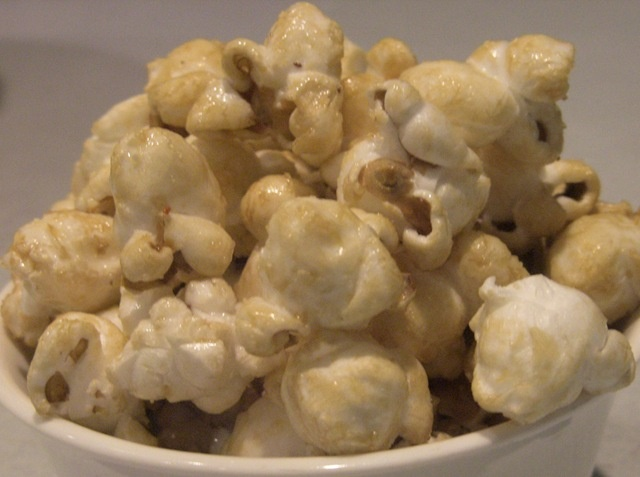 kettle corn - use coconut oil, sea salt and unrefined sweetener