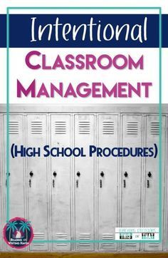 5 Common Classroom Management Issues in High School