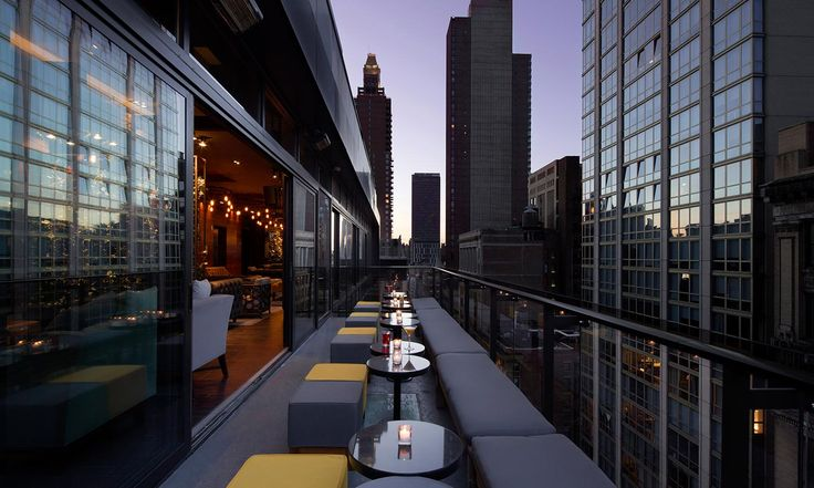 Gansevoort Hotel Group | Luxury Hotels in Manhattan, New York & Grace Bay Beach, Turks and Caicos | Gansevoort Park Rooftop