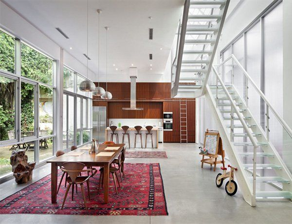 Brooklyn Artist Loft filled with natural light