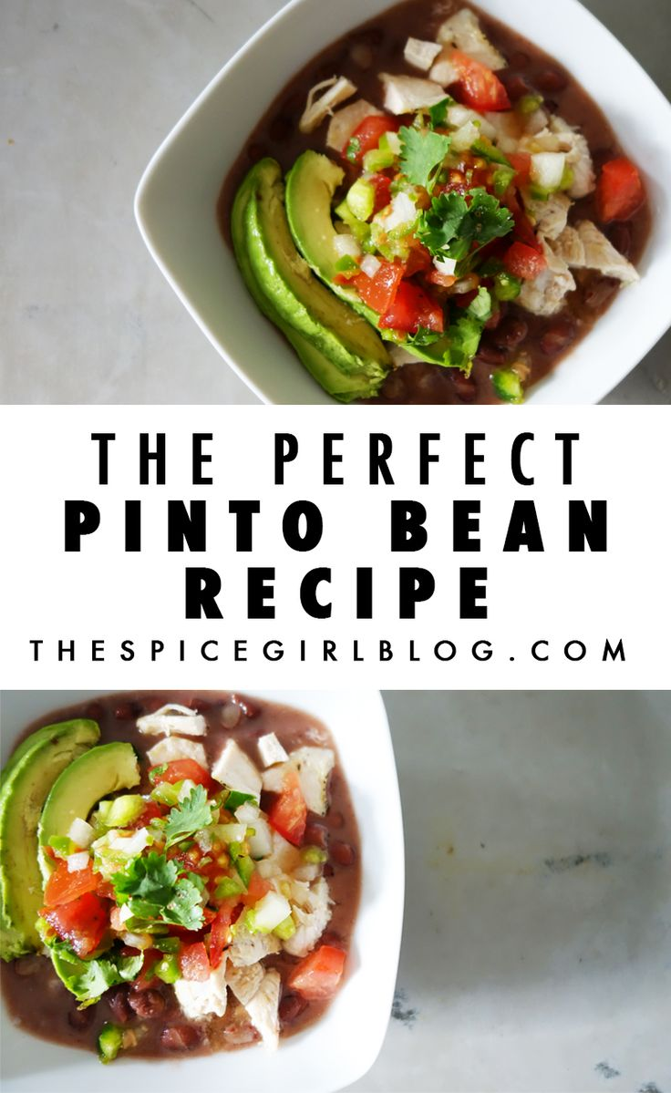 The perfect Pinto Bean Recipe.  Such a delicious Mexican food recipe that I grew up eating. It is so easy and hands off, and my go to meal for any occasion. Throw a party, or make a big food prep batch to freeze, I highly recommend this easy, healthy recipe!