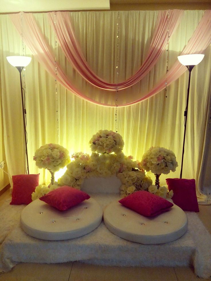 Malay Engagement Dais Pelamin Tunang Simple Pelamin