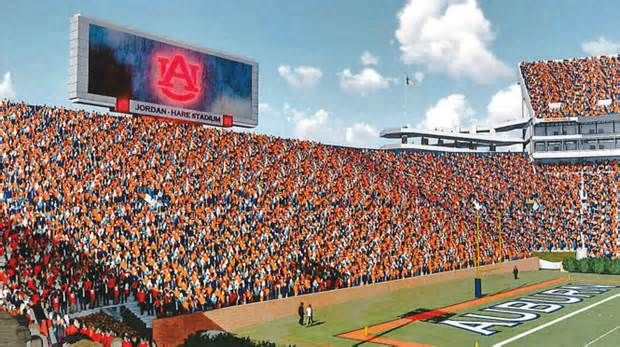 Auburn board to hear final proposal for videoboard in North end of Jordan-Hare, other projects Auburn athletic director Jay Jacobs is scheduled to seek final project approval from the school's board of trustees for a new videoboard in the North end zone of Jordan-Hare Stadium and a new equestrian barn, as well as approval of project architects for ...