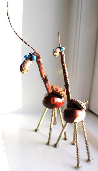 chestnut giraffe