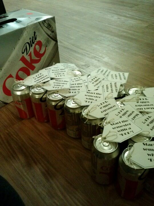 """""""Make this semester Pop."""" I did this as a welcome back gift for each of my residents. SNHU 2013"""