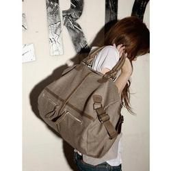 Large Trendy  Canvas Handbag  Cross body-Choice of Colors