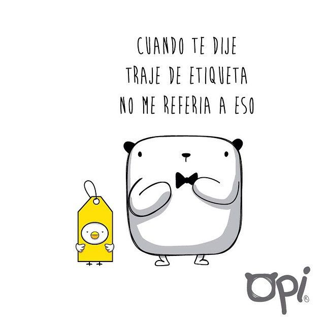 Traje de etiqueta #opi #cute #kawaii #bear #illustration #ilustración #oso #viernes #friday | Flickr - Photo Sharing!
