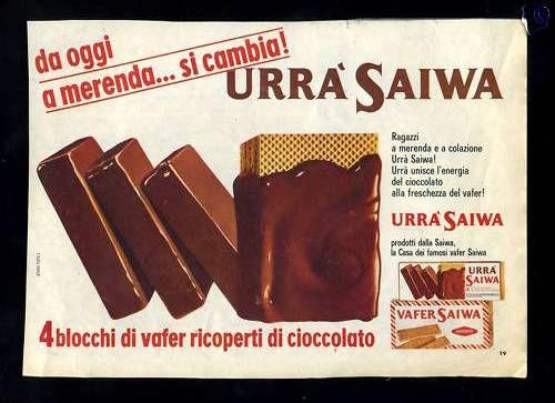 Urrà Saiwa vintage ad