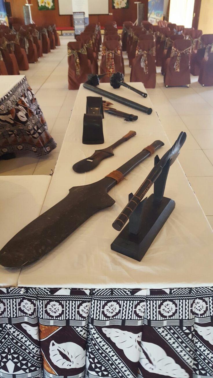 Learn About Tradional Fijian Weaponery