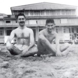 Kafka with best Friend, Max Brod