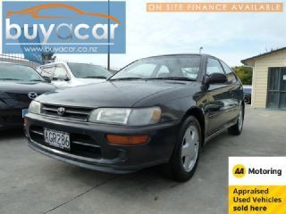 Toyota Corolla Hatchback FX 1.6L Manual Black 1995 for Sale - Autotrader New Zealand