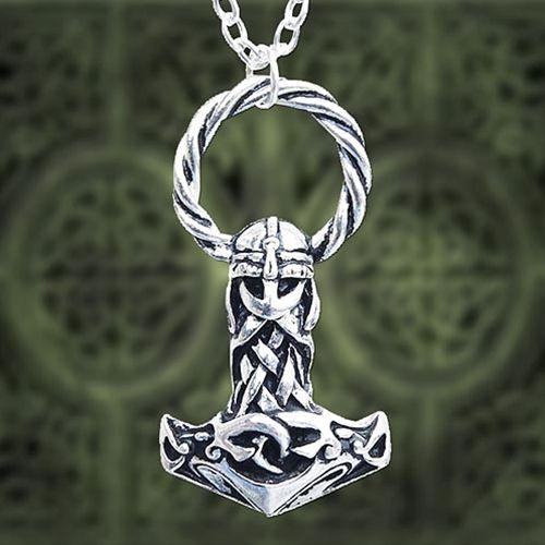 Dans la mythologie nordique, Mjöllnir (en vieux norrois, Mjǫllnir) est le marteau à manche court de Thor, le dieu de la foudre et du tonnerre.Le marteau de Thor est l'arme la plus puissante des dieux, et symbolise alors la protection de l'univers face aux forces du chaos, notamment les géants, plus grands ennemis des dieux, qui sont régulièrement abattus par Thor grâce à son marteau.