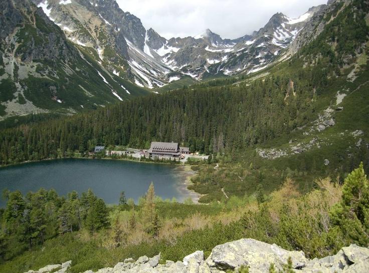 Slovakia - High Tatras - Popradské pleso