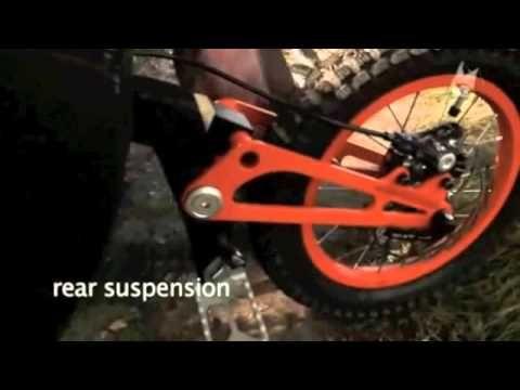 bergmonch la mountain bike pieghevole