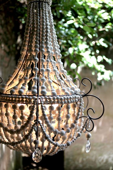These chandeliers are made from recycled paper clay and by women with HIV, empowering them with skills and confidence.