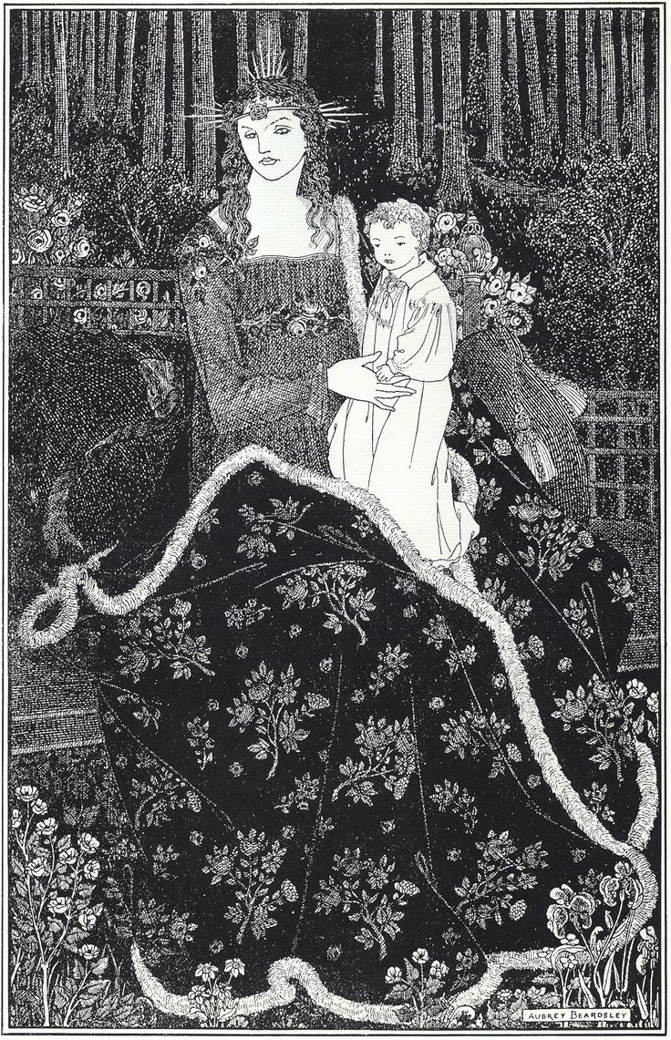 Image Detail for - large Christmas Card - Aubrey Beardsley - WikiPaintings.org: