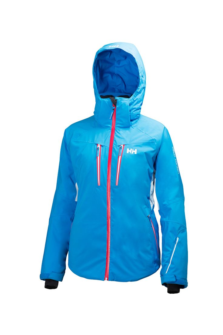 The 2016 Helly Hansen Women's Motion Insulated Ski Jacket is fully insulated, waterproof, windproof , breathable, vented with Helly's patented H2Flow and features Helly Tech Performance Construction. In addition it has incredible alpine style that will suit your every wintertime outdoor needs.