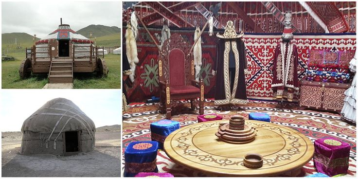 Historical records show thatYurts (from the Turkic language) or gers (as they are called in Asia), have been widely used as portable dwellings by ancient