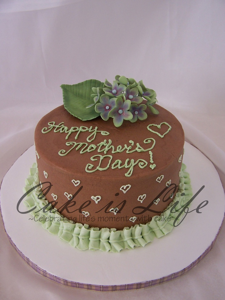 Cake Design For Mother In Law : 31 best images about Mothers Day! on Pinterest