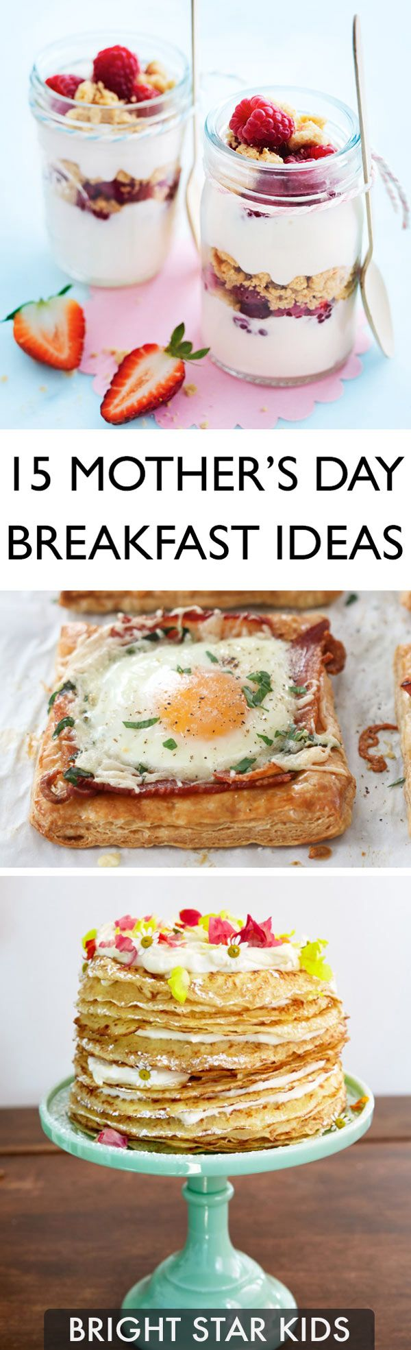 Spoil your Mum this Mother's Day! See also our free Mother's Day printables at blog.brightstarkids.com.au #mothersday #breakfastinbed #bestmum