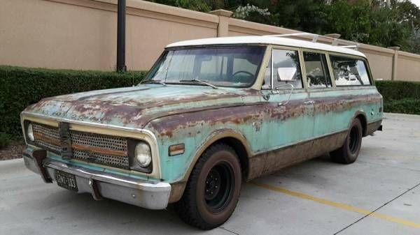 Surf Wagon: 1968 Chevrolet 3-Door Suburban - http://barnfinds.com/surf-wagon-1968-chevrolet-3-door-suburban/