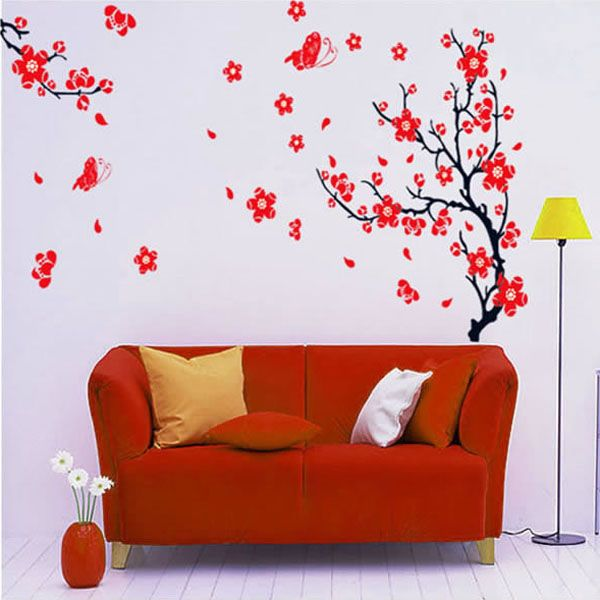 Pirosan virágzó fa falmatrica  #csajos #virág #gyerekszobafalmatrica #falmatrica #gyerekszobadekoráció #gyerekszoba #matrica #faldekoráció #dekoráció
