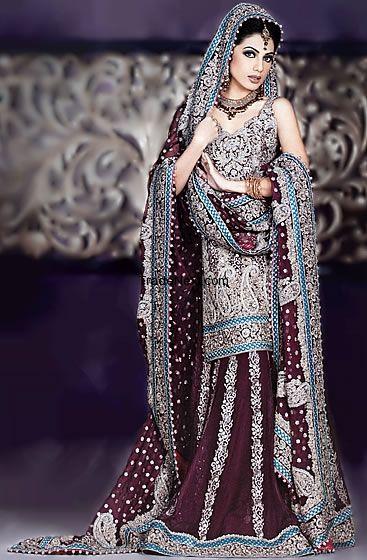 Pakistani wedding gown