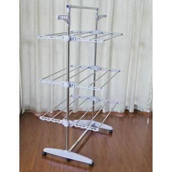 Buy Foldable Clothes Hanger Rack 3-tier online at Lazada Singapore. Discount prices and promotional sale on all Drying Racks. Free Shipping.