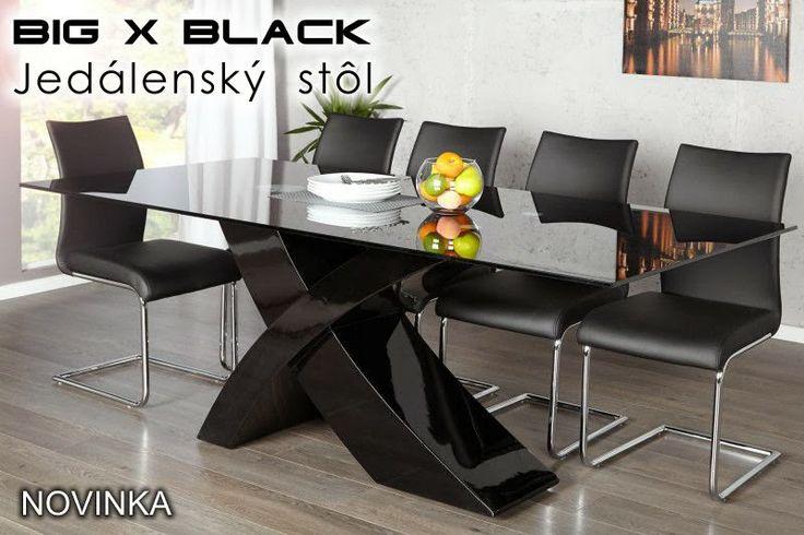 Luxusný nábytok REACTION: Dizajnový jedálenský stôl BIG X