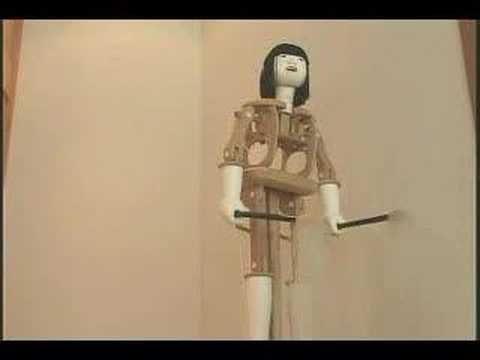 lovely antique Japanese karakuri or automaton - mechanisms.The antecessors of Today´s robots.