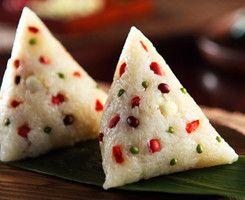 粽子 sticky rice with leaves