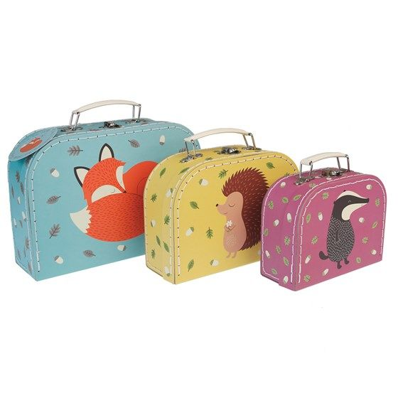 Βαλίτσες Set of 3 - Rusty & friends