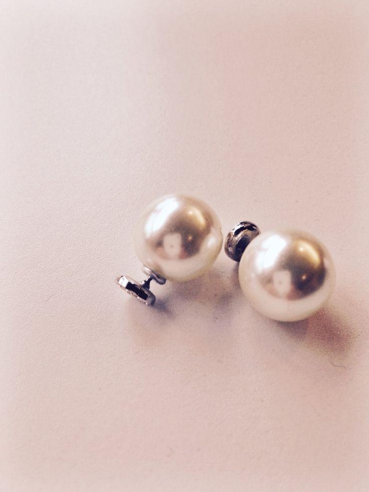 Bettyray Leona Pearl Earrings