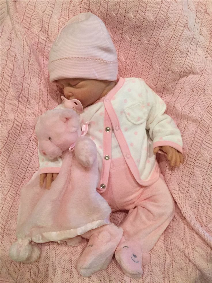 Lillie Beth, reborn baby doll, in New Carter's outfit from a dear friend
