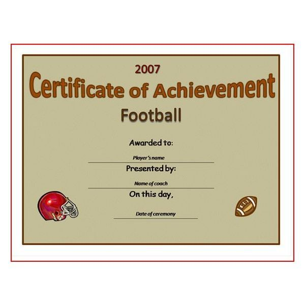 Free+Printable+Football+Award+Certificate+Template