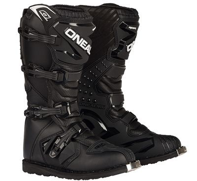 Check out the O'Neal Rider Dirt Bike Boots! Affordability has never looked so good, until now! Don't break your foot or the bank, grab the O'Neal Rider Dirt Bike Boots in Black today!