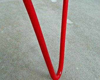 steel table legs – Etsy, #tablebase, #tablelegs, #coffeetable, #hairpin
