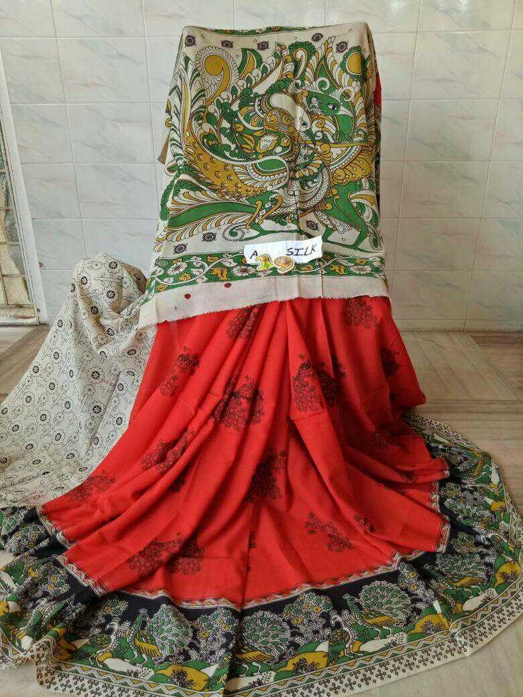Kalamkari silk cotton sarees 1