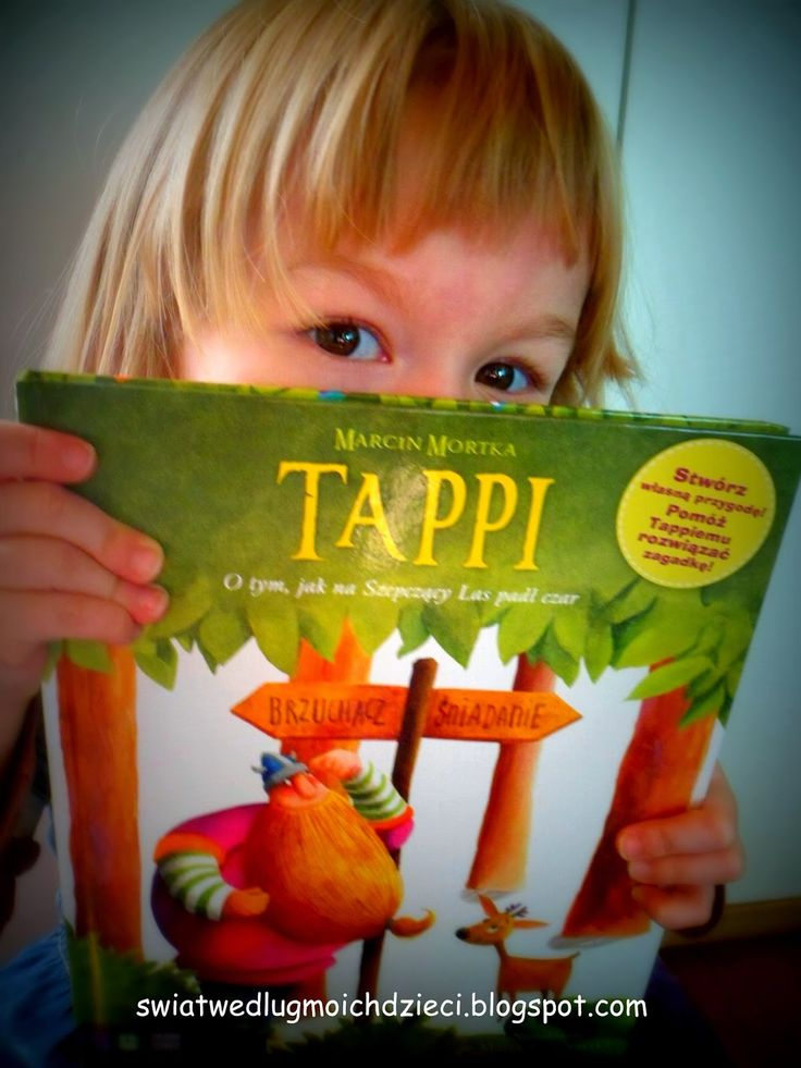 """świat według moich dzieci: """"Tappi"""" O tym, jak na Szepczący Las padł czar"""