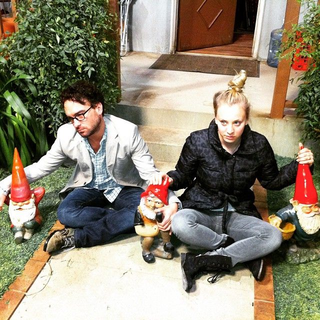 Gnomes. From the archives. @normancook #TBBT #behindthescenes