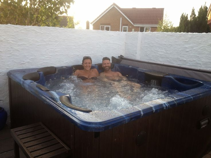 Happy time in #Hot_tub .