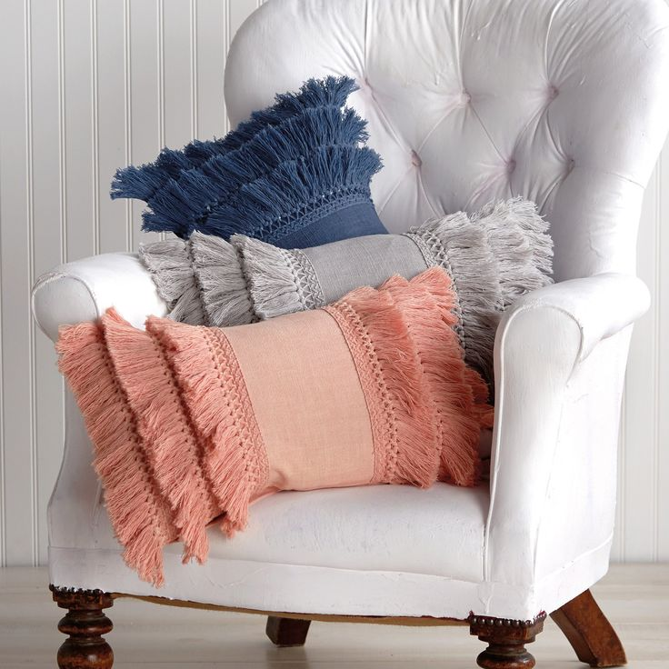 Cynthia Rowley Fringe Pillows: 43 Best Pillows Images On Pinterest