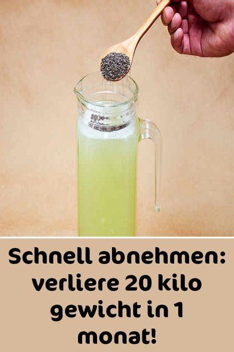 Chiasamen-Honig Drink