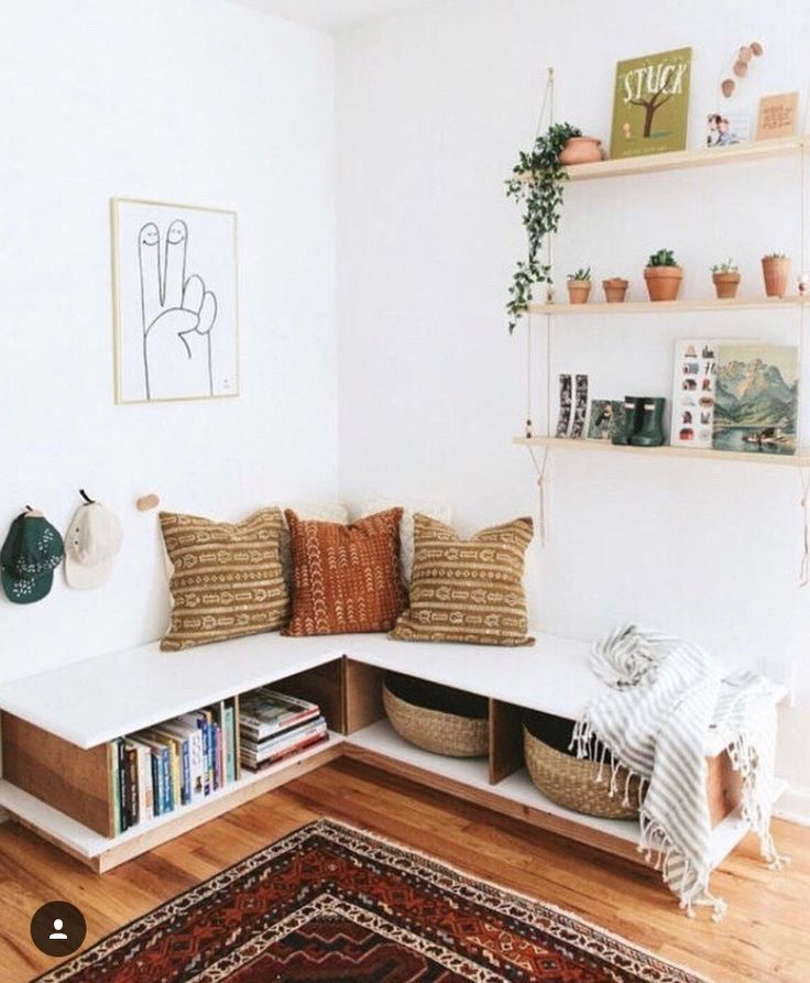 cute little nook #home #style