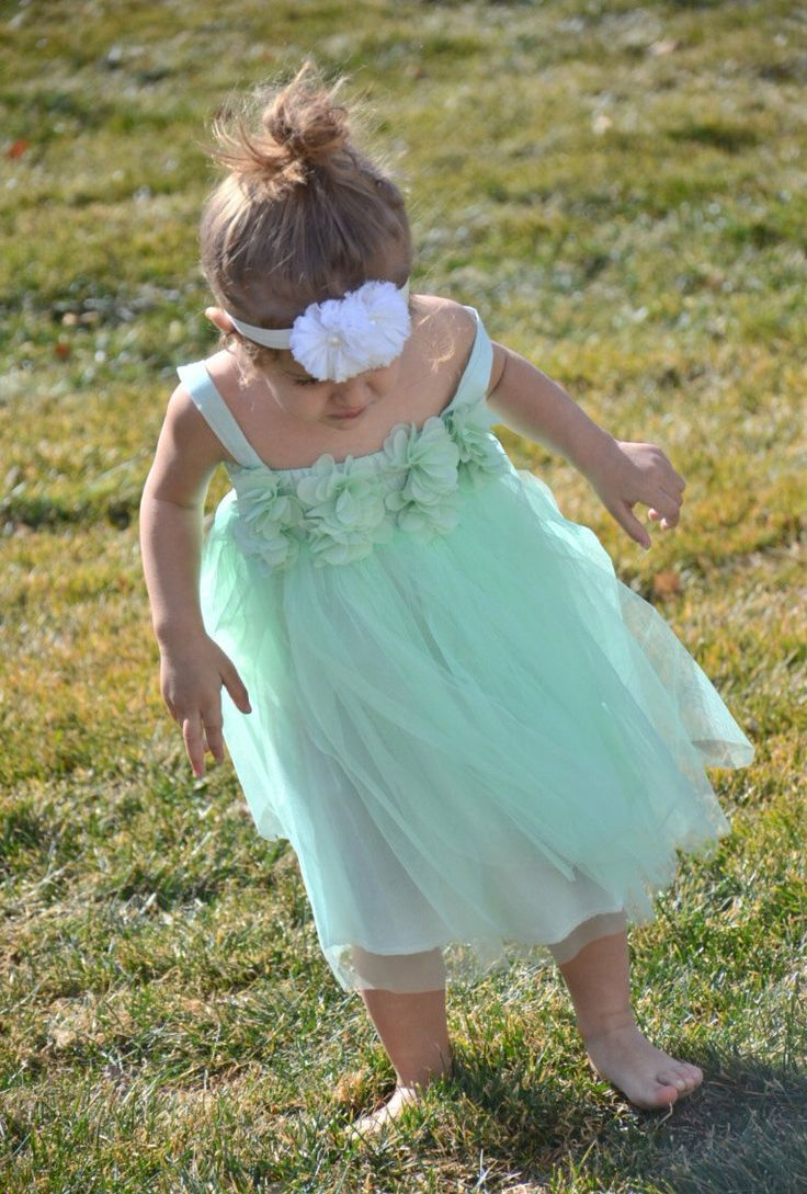 11 best Flower girl dresses images on Pinterest | Bridesmaid gowns ...