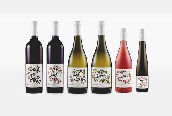 Logan Wines on Behance